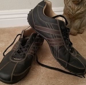 Perr Ellis America Troy Leather Shoes